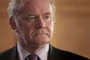 Martin McGuinness; vice premier ministre d'Irlande du Nord