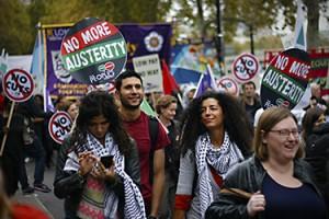 Un grand rassemblement anti austérité est prévu le 30 mai