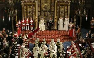 Discours de la Reine devant la chambre des Lords