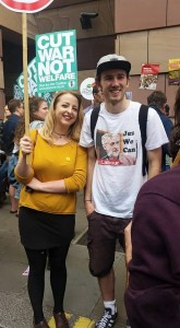 Des manifestants contre l'austérité