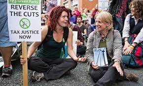 Les Greens engagés contre les coupes budgétaires