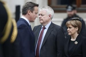 Entre Cameron et Sturgeon, les relations sont fraiches
