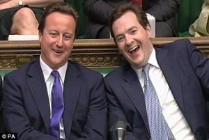 David Cameron et George Osborne