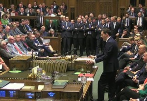 George Osborne s'est exprimé pendant un peu plus d'une heure