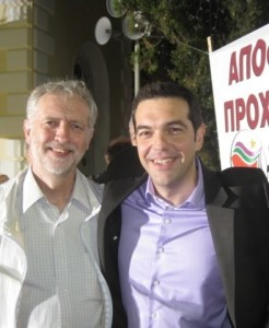 """Alexis Tsipras, considéré par les Blairistes, comme dirigeant un """"gouvernement extrémiste"""""""