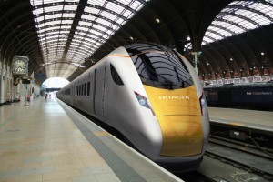 train hitachi pour la First Great Western