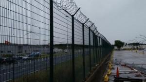 Barrières à Calais