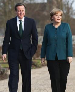Angela Merkel n'a rien lâché à David Cameron