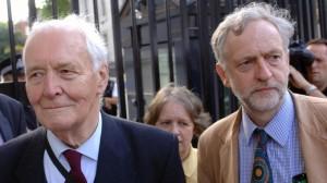 Tony Benn, mentor, inspirateur et ami de Jeremy Corbyn.