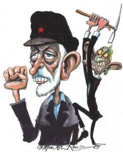 Tony Blair et Jeremy Corbyn
