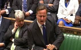 David Cameron a été contraint à plus de modération.