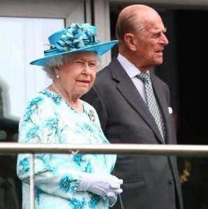 La reine Elizabeth II et son mari le prince Philipp