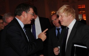 Lord Ashcroft et Boris Johnson