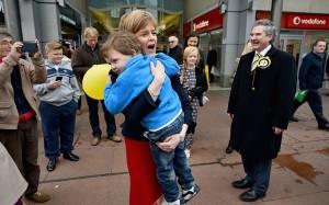 Nicola Sturgeon jouit d'une popularité sans égale