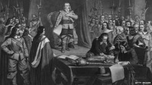 La guerre civile anglaise a profondément marqué la politique brtannique