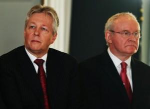 Peter Robinson et Martin McGuinness