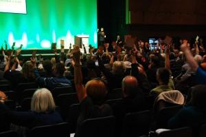Conférence d'automne du Green PArty