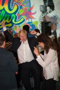 Rachel et Boris Johnson en mode fêtards