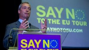 sale temps pour Farage