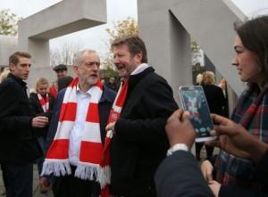 Jeremy Corbyn fan d'Arsenal FC