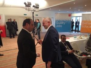 Corbyn et Hollande