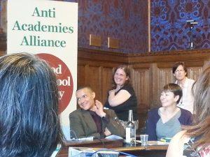 Président de l'Alliance against academies, Clive Lewis savoure une victoire plus que probable