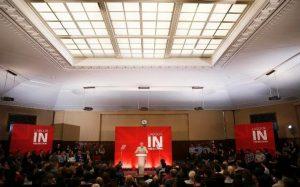 Corbyn a choisi le siège du Trade Union congress pour son discours sur lEurope