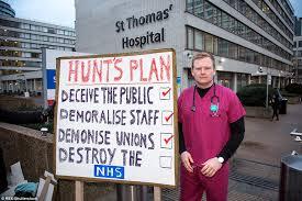Mobilisation des Junior doctors à Londres