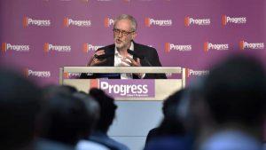 Corbyn à la conférence annuelle de Progress