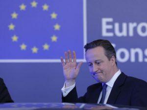 David Cameron mal en point