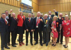 A Wigan, les travaillistes fêtent leur victoire