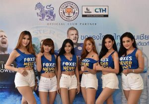 Leicester champion fêté jusqu'en Thaïlande