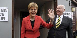 La première ministre écossaise rate de peu la majorité absolue
