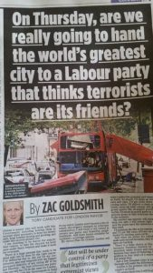 la tribune de Zac Goldsmith