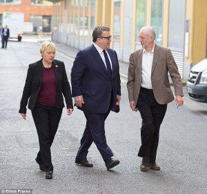 Angela Eagle Tom Watson Jeremy Corbyn