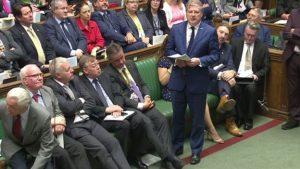Angus Robertson, leader du SNP à la chambre des communes