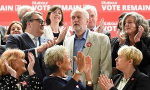Jeremy Corbyn et le shadow cabinet