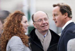 Rupert Murdoch et David Cameron
