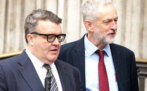 Tom Watson et Jeremy Corbyn