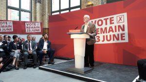 Intervention de Jeremy Corbyn le 21 juin 2016