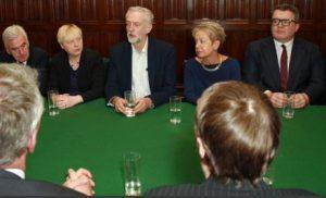 le shadow cabinet travailliste en mai 2016