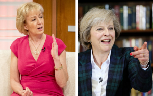 Andrea Leadsom et Theresa May