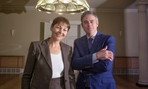 Caroline Lucas et Jonathan Bartley forment le ticket favori