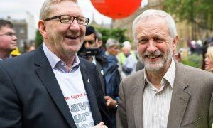 McCluskey et Corbyn