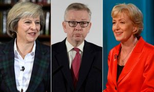 Theresa May Michael Gove Andrea Leadsom