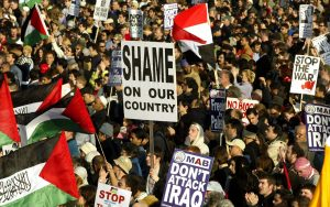 manifestation contre la guerre en 2003