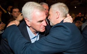 John McDonnell et Jeremy Corbyn