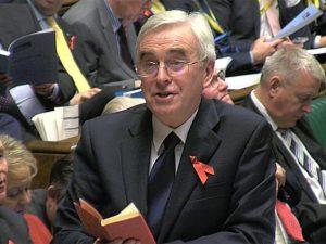 John McDonnell et le Petit Livre rouge de Mao